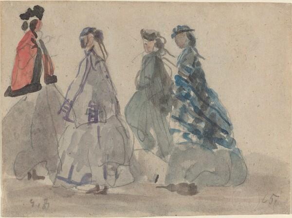 Four Women at Trouville