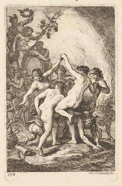 The Triumph of Bacchus with Dancing Nymphs
