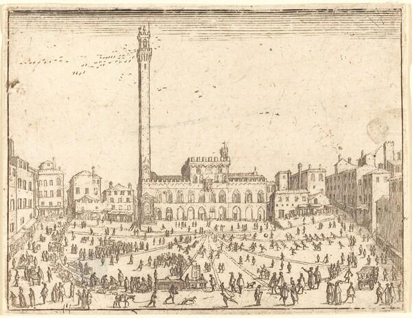 Piazza Publicca, Siena