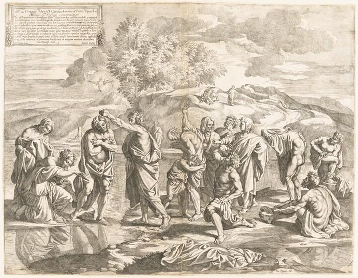 Jean Dughet, Nicolas Poussin, Baptism, c. 1650c. 1650