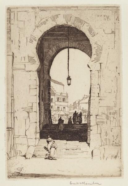 Moorish Archway, Toledo