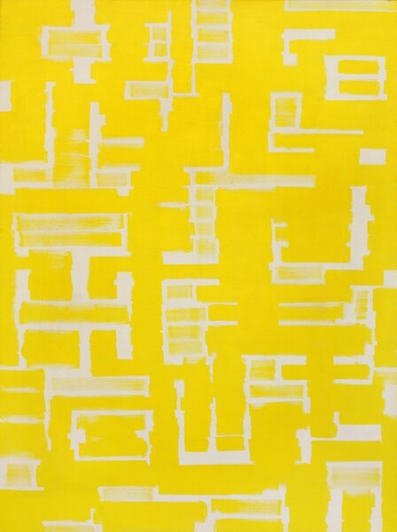 Untitled (Yellow and White)