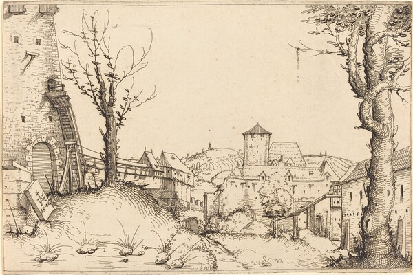 Courtyard of a Castle
