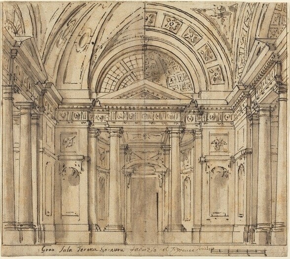 Design for Entrance to a Hall