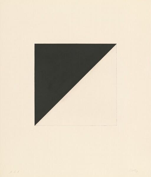 Diagonal with Black