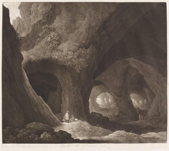 Travelers in Gigantic Caverns