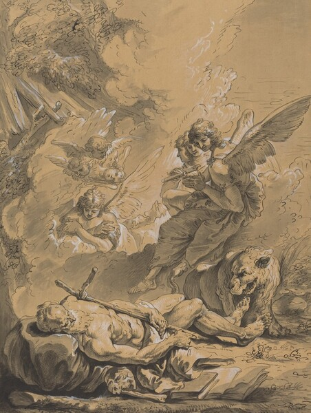 Death of Saint Jerome