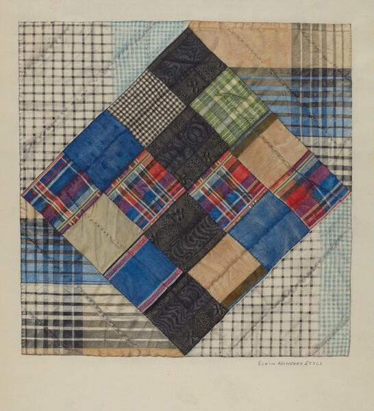 Silk Bed Quilt