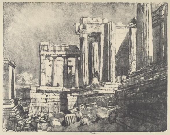The Propylaea, Athens