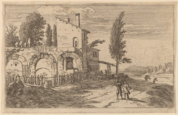 Inn in the Ruins of the Palace of the Emperors