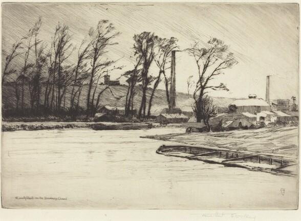 A Wintry Blast on the Stourbridge Canal
