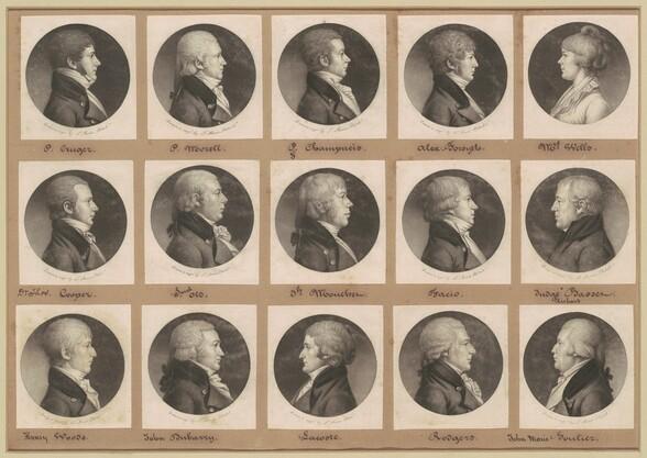 Saint-Mémin Collection of Portraits, Group 21