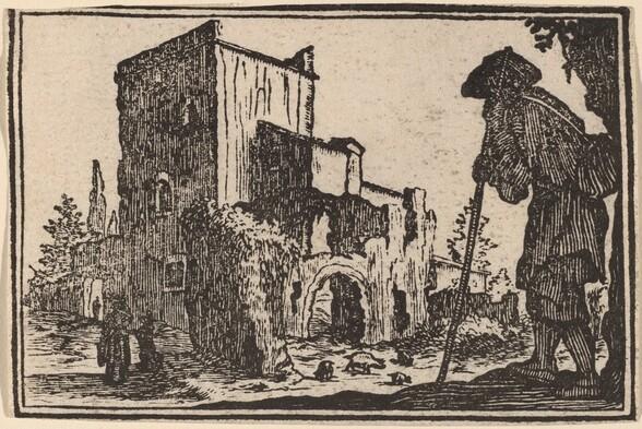 Shepherd and Ruins