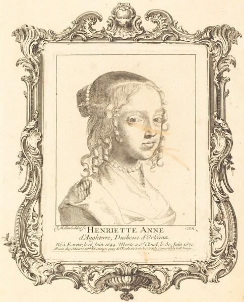 Henriette Anne of England, Duchess of Orléans