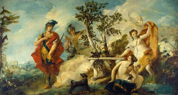 Carlo and Ubaldo Resisting the Enchantments of Armida