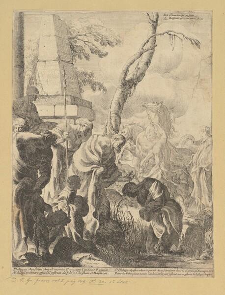 Saint Paul Baptizing the Eunuch