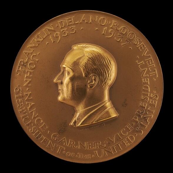 Franklin Delano Roosevelt Inaugural Medal [obverse]