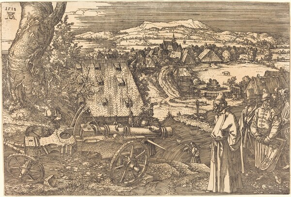 Landscape with the Cannon