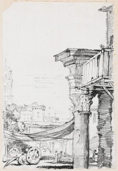 A Balcony in the Roman Forum