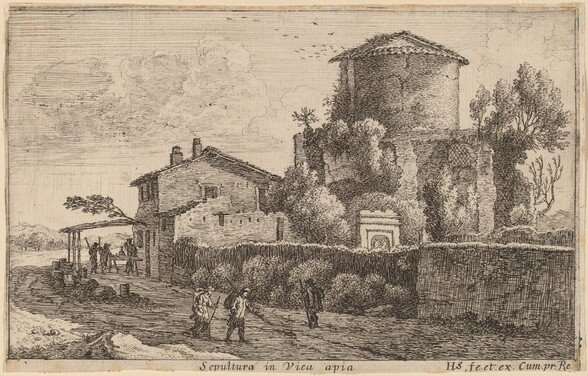 Tomb on the Via Appia