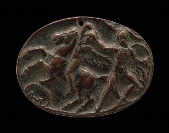 Achilles Seizing Troilus
