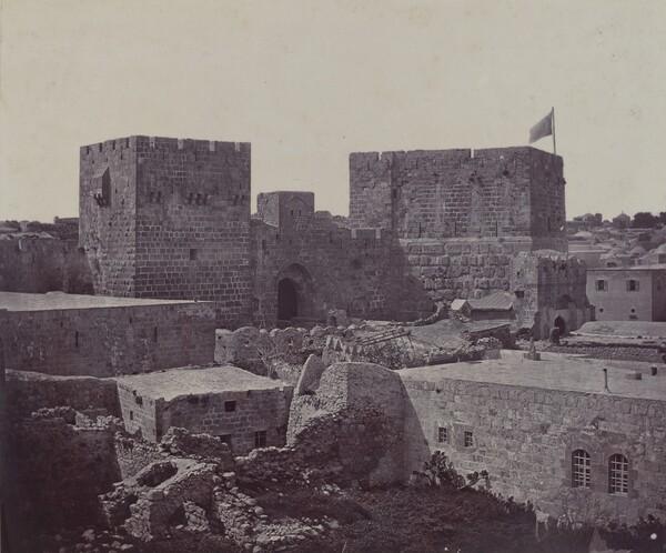 Jerusalem - Section of Old City