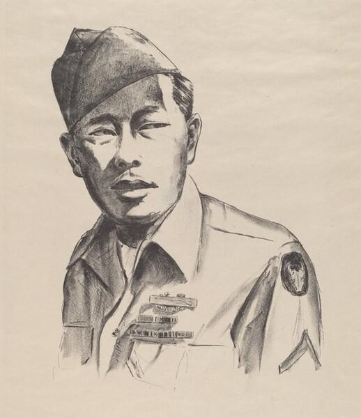 A.J.A., 100th Infantry Battalion