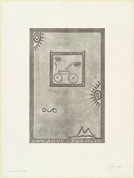 Untitled (White Mezzotint) [1st element 4th state]