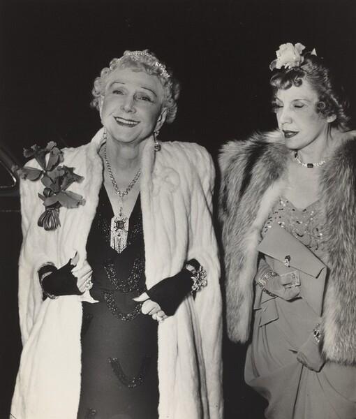Mrs. George Washington Kavanaugh and her Daughter Leonora Warner