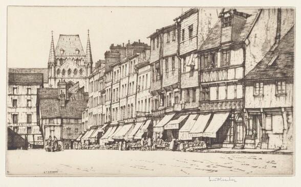 Place Victor Hugo, Lisieux
