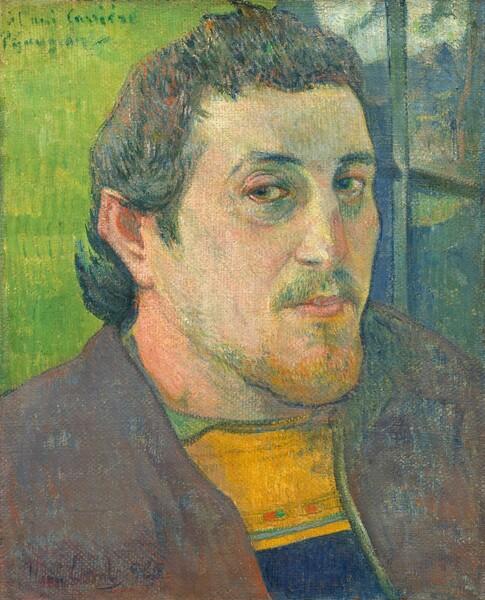 Self-Portrait Dedicated to Carrière