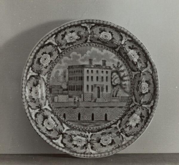 Plate - Athaneum, Boston