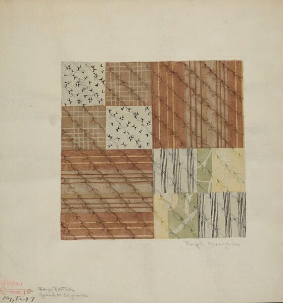 Patchwork Quilt Squares (4)