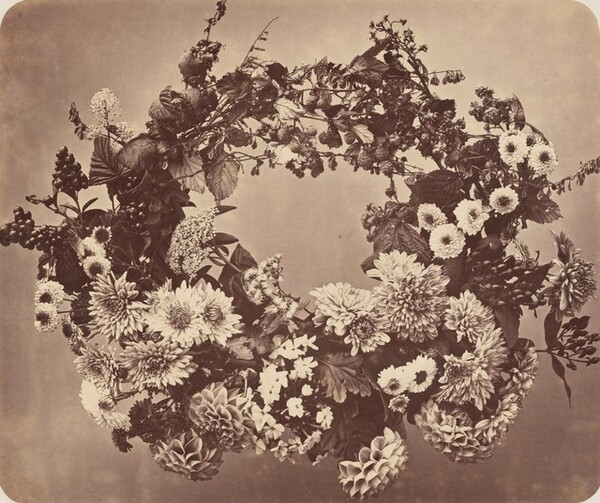 Floral and Berry Wreath