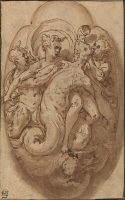 Taddeo Zuccaro, Mythological Figures, c. 1561c. 1561