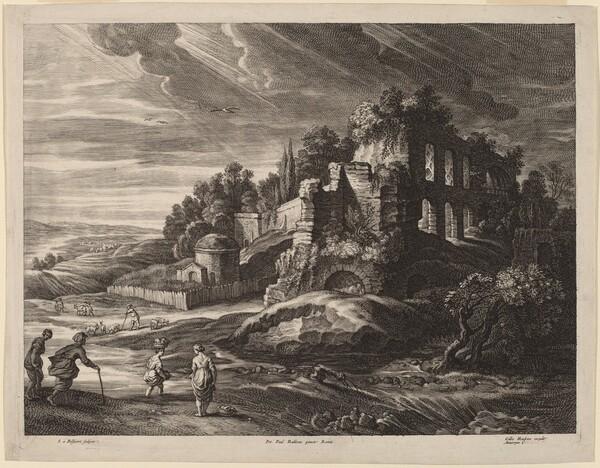 Landscape with Large Roman Ruins