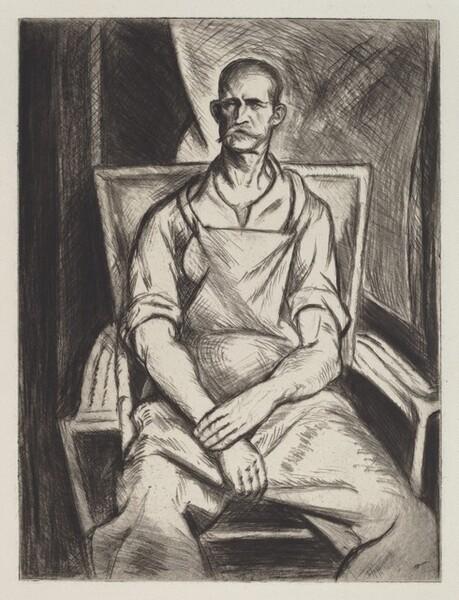 Portrat of Joseph Boston, Laborer