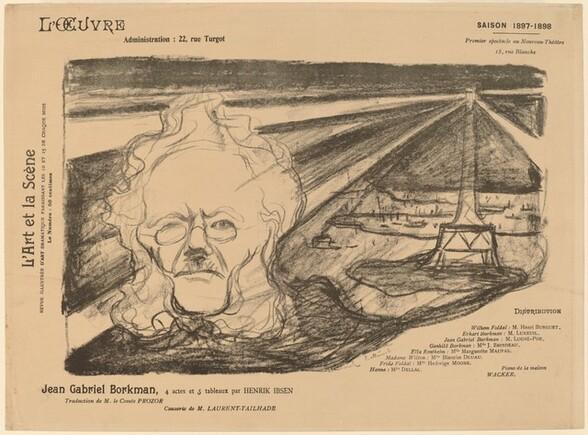 Ibsen with Lighthouse (Ibsen mit Leuchtturm)