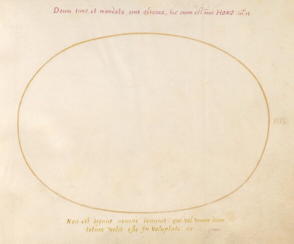 Plate 3: Empty Oval
