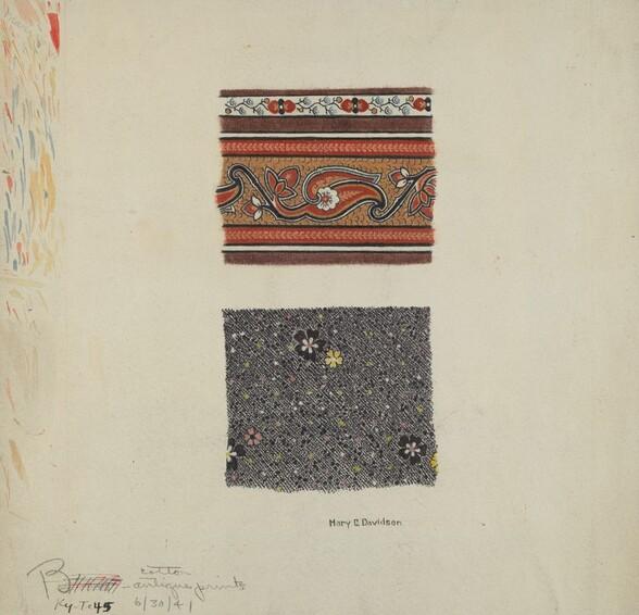 Cotton Antique Prints