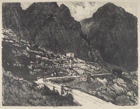 The Shining Rocks, Delphi