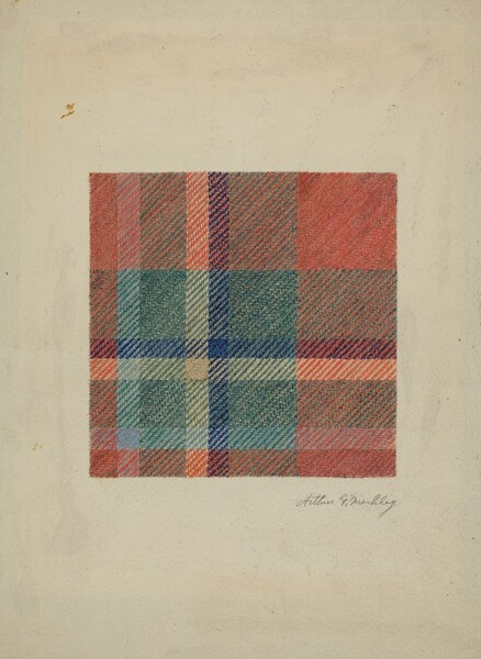 Plaid Woolen Blanket