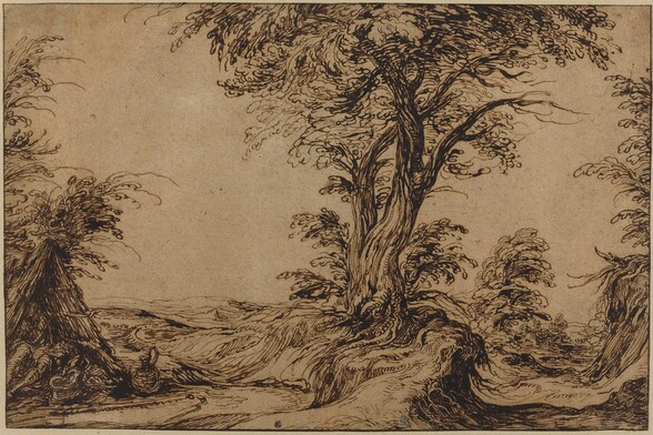 Landscape with Sleeping Peasants