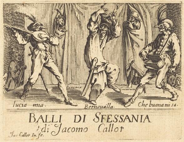 Frontispiece for Balli di Sfessania