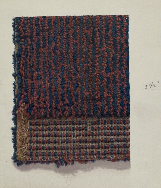 Woven Covering for Chair Seat