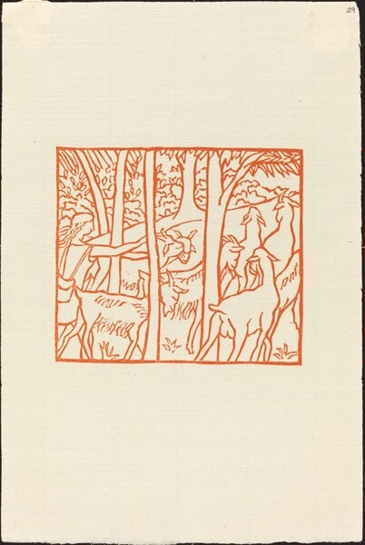 Second Book: Daphnis Driving Home His Flock (Daphnis ramene ses betes a l
