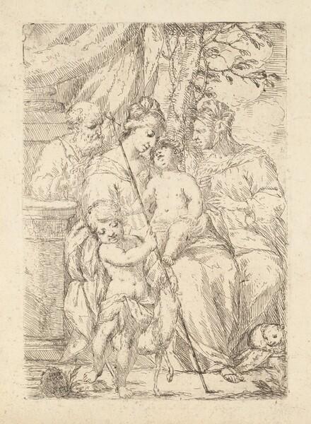 Holy Family with Saint Elizabeth
