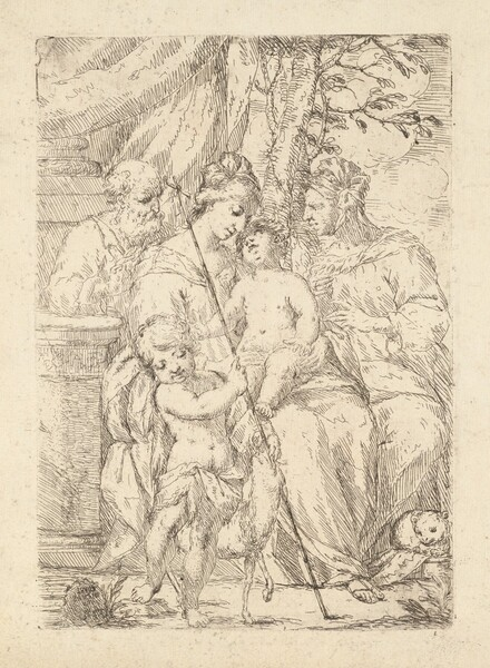 Holy Family with Saint Elizabeth