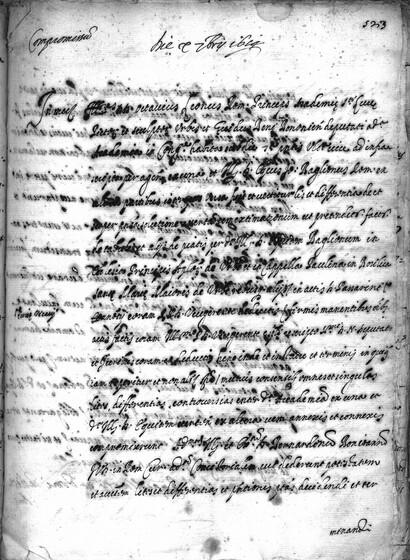 ASR, TNC, uff. 15, 1614, pt. 3, vol. 61, fol. 523r