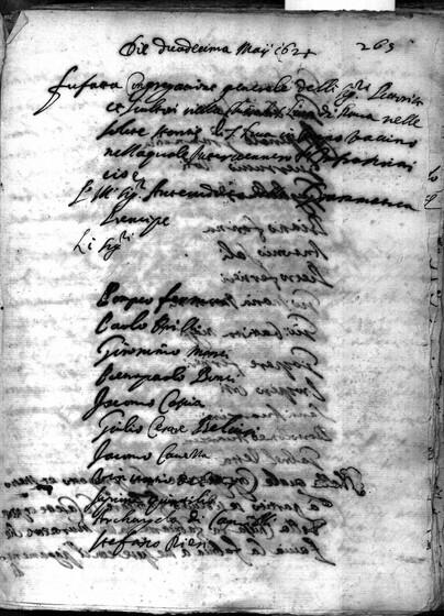 ASR, TNC, uff. 15, 1624, pt. 2, vol. 100, fol. 265r
